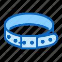 collar, dog, pet, shop icon