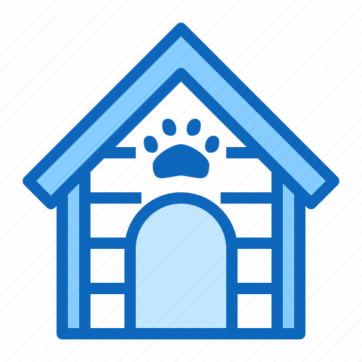 doghouse, kennel, pet, shop icon