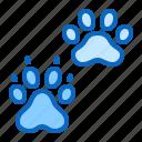 bog, cat, paw, pet, shop icon