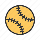 ball, dog, game, shot, soft, softball icon
