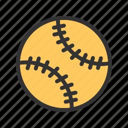 ball, dog, game, shot, soft, softball icon