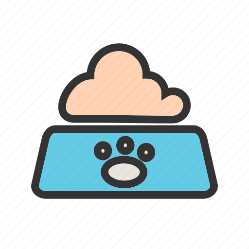 Animal, bowl, cat, eating, food, milk, pet icon - Download on Iconfinder