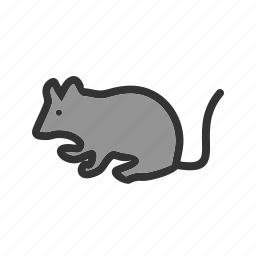 animal, mice, mouse, pet, rat, rodent, tail icon