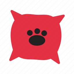 animal, bed, cute, dog, pet, puppy icon