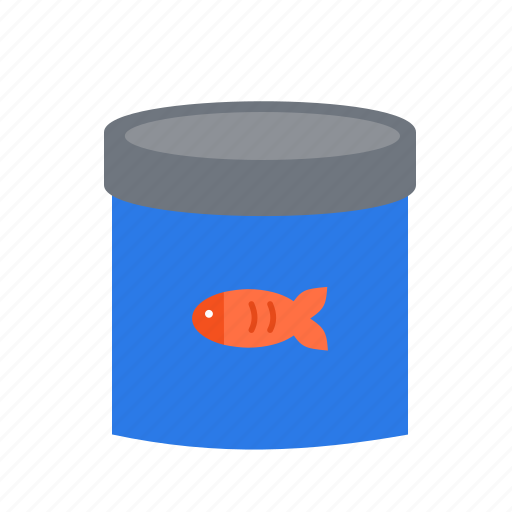 canned, fish, food, healthy, meal, organic, tuna icon
