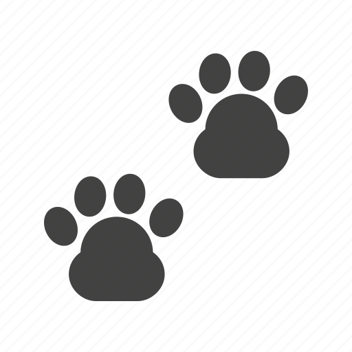 Animal, cat, cute, dog, paw, pet, walk icon - Download on Iconfinder