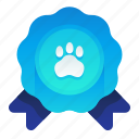 badge, certificate, champion, pedigree, pet