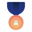 animal, champion, medal, pedigree, pet