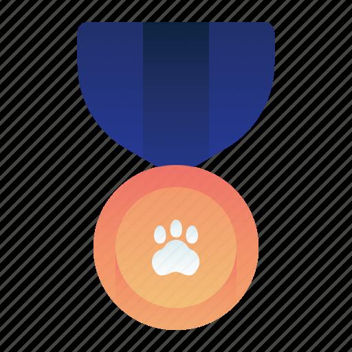 Animal, champion, medal, pedigree, pet icon - Download on Iconfinder