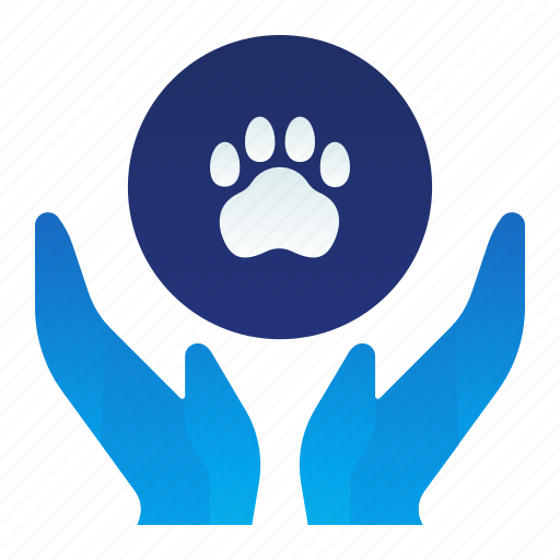 Animal, care, gesture, hand, healthcare, pet icon - Download on Iconfinder