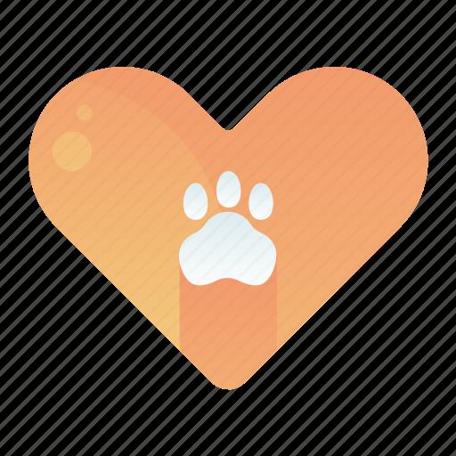 animal, favourite, heart, love, pet icon