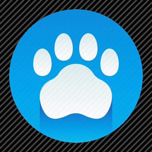 animal, paw, pet, print icon