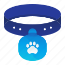 animal, collar, pet, tag