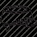 bowl, cat, eat, fish, food, pet, skeleton