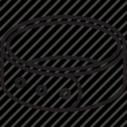 belt, cat, collar, dog, identify, pet icon