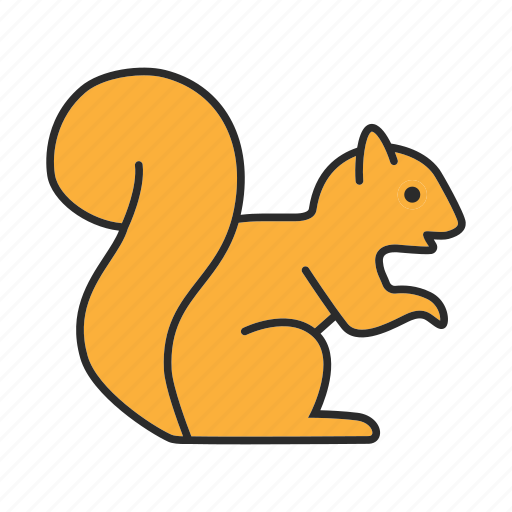 animal, chipmunk, nature, pet, rodent, squirrel, wildlife icon
