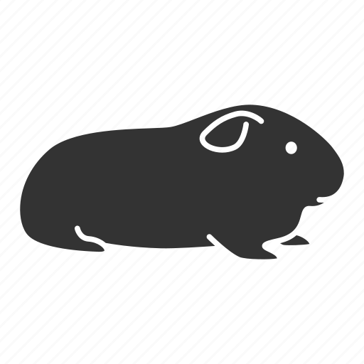 Animal, cavy, domestic, guinea, pet, pig, rodent icon - Download on Iconfinder