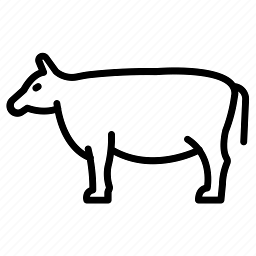 Cow, animal, pet, mammal icon - Download on Iconfinder