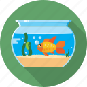 aquarium, fish, gold fish, pet, sea, water icon