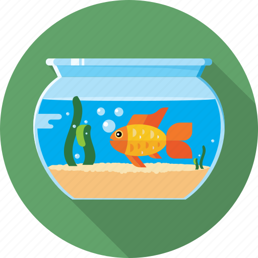 aquarium, fish, gold fish, pet, sea, water icon