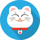 animal, cat, domestic, face, kitty, pet icon