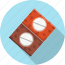 blister, drugs, medicine, pack, paw, pill, prescription icon