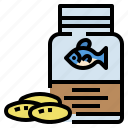 bottle, fish, medicine, oil, pharmacy