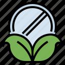 bowl, herb, medicine, pharmacy icon