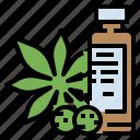 botanical, cannabis, drug, marijuana, medical