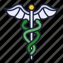 caduceus, symbol, health, hospital, pharmacy