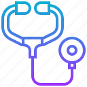 care, doctor, health, medicine, stethoscope icon