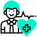 care, health, heart, medicine, pharmacydoctor, rate icon