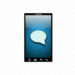 call, communications, contact, message, mobile, search icon