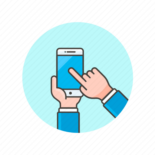 communication, device, electronics, hand, phone, smart, technology, touch icon