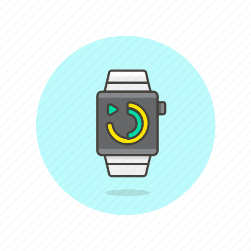 communication, device, electronics, gadget, phone, smart, technology, watch icon