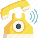 call, communication, connection, contact, phone, telephone icon