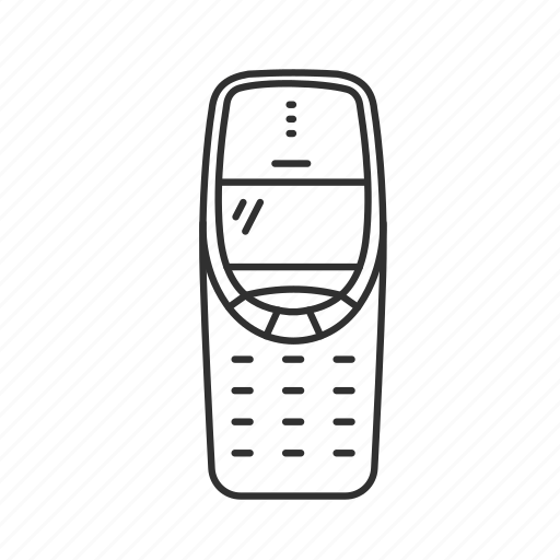 call, classic phone, message, nokia, nokia 3310, old phone, text icon