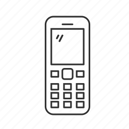 call, conversation, keypad phone, message, old phone, text icon