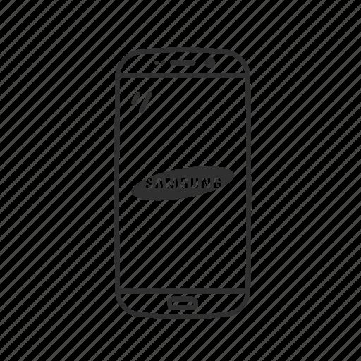 android, conversation, message, phone, s7 edge, smartphone, telephone icon