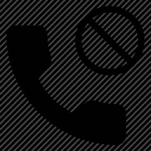 block, call, communication, phone, telephone icon