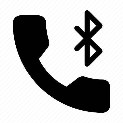 bluetuth, communication, phone, speaker, telephone icon