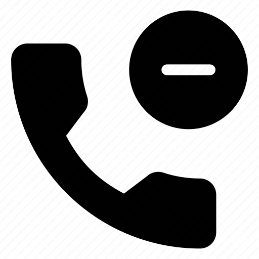 call, communication, connection, remouve, telephone icon