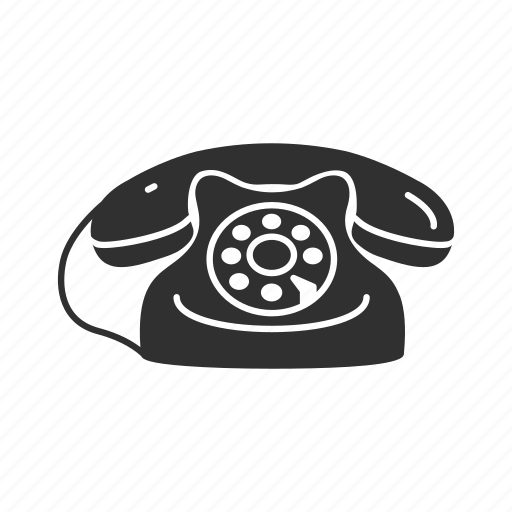 call, classic telephone, home telephone, message, old telephone, telephone, text icon