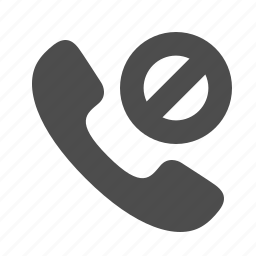 blocked, handle, handset, phone, private, restricted, telephone icon