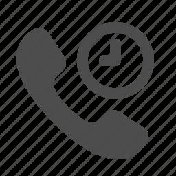 clock, deadline, handle, handset, phones, telephone icon