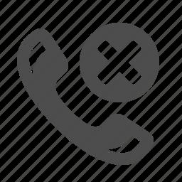 button, delete, handle, handset, phone, telephone icon