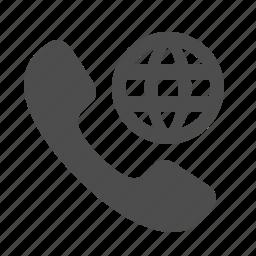 globe, internet, phone, phones, roaming, telephone, web icon