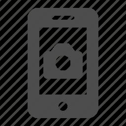 camera, mobile phone, photo, photography, smartphone, telephone, video icon