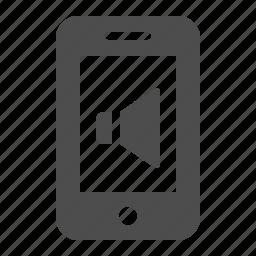 mobile phone, phone, ringtone, smartphone, speaker, telephone, volume icon