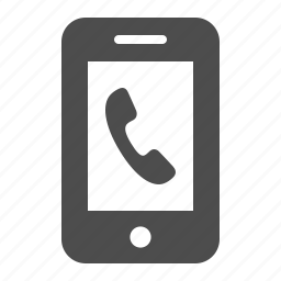 calling, contacts, mobile phone, phone, ringing, smartphone, telephone icon